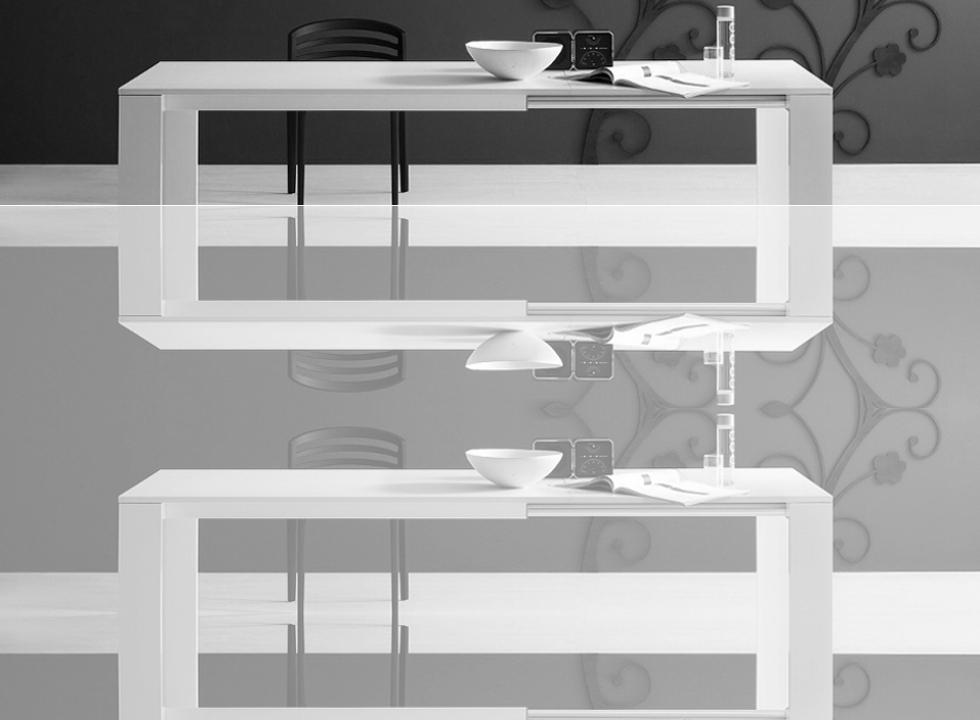 Tavoli Allungabili In Alluminio.Tavoli Allungabili Strutture Tavoli In Alluminio Dermobil
