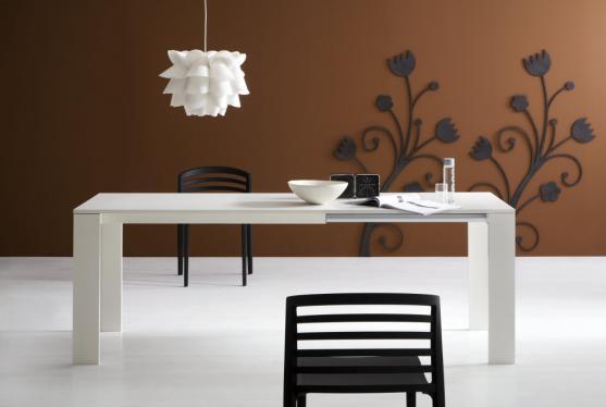 Style tavoli dermobil for Tavoli da cucina in vetro allungabili